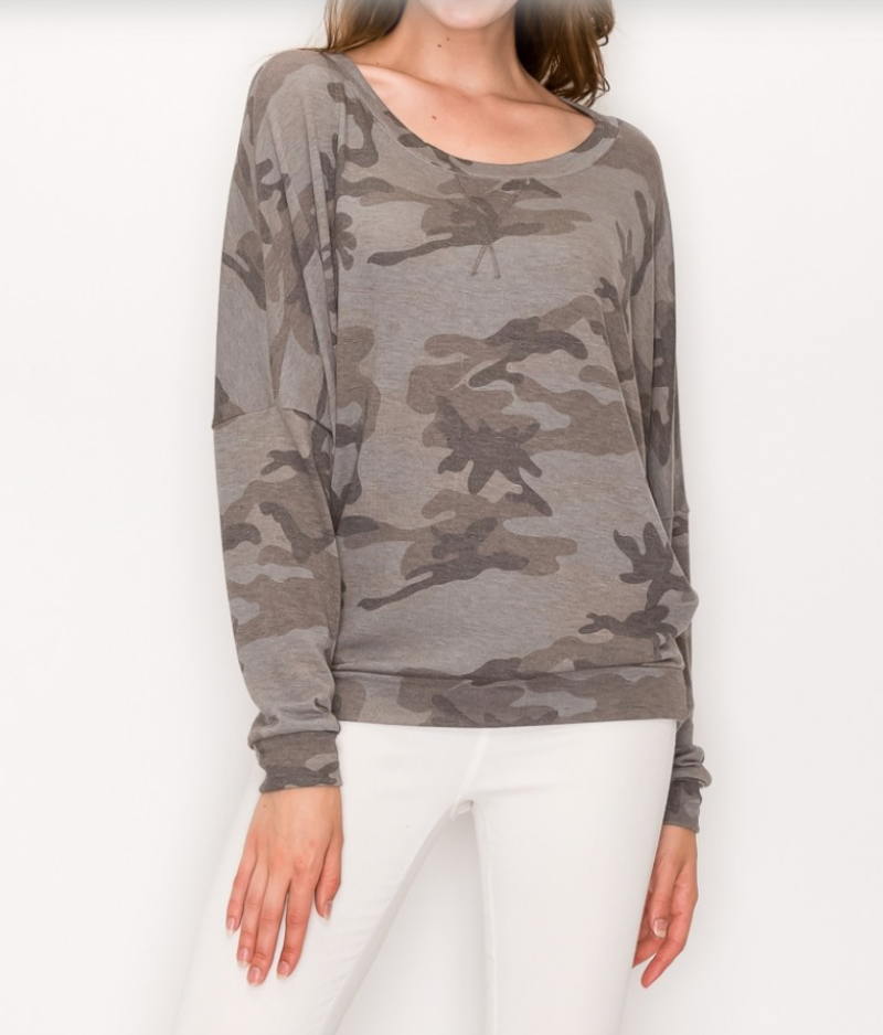 Soft Camo Sweatshirt