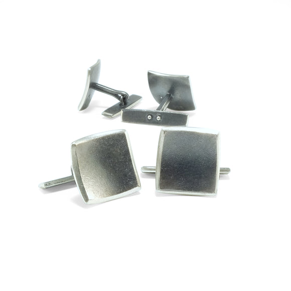 nishnabotna jewelry accessory, sterling silver cuff links for dress shirt