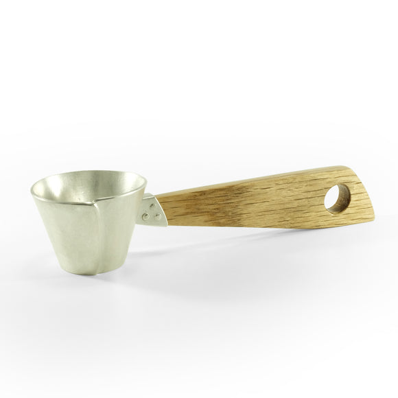 silver coffee scoop spoon by justin klocke nishnabotna