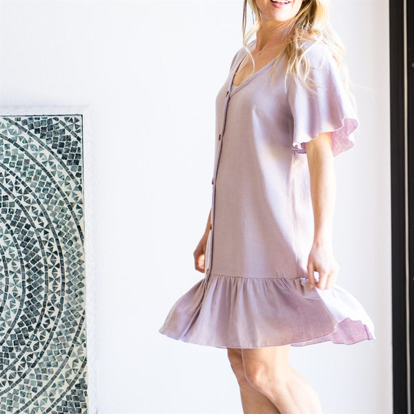 Cali Ruffle Dress