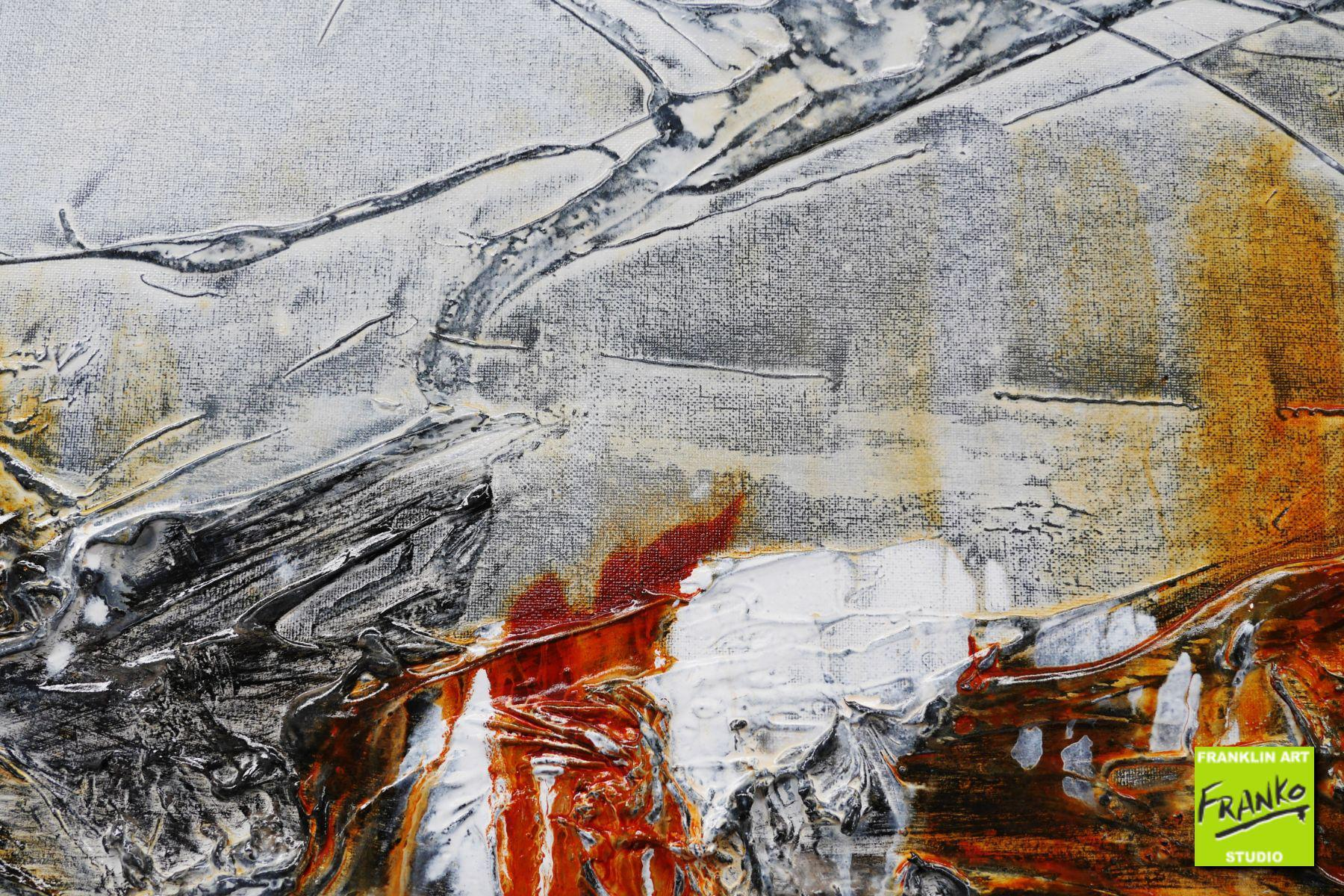 3f84065e5479ea Rusted raw grey white rust textured abstract painting jpg 1800x1200 Stract paintings  rusty