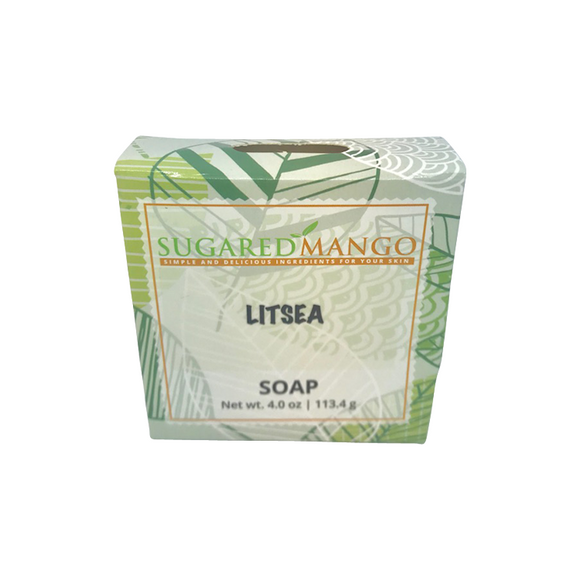Litsea Essential Oil Soap - Sugared Mango