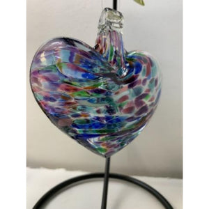Art Glass Hearts