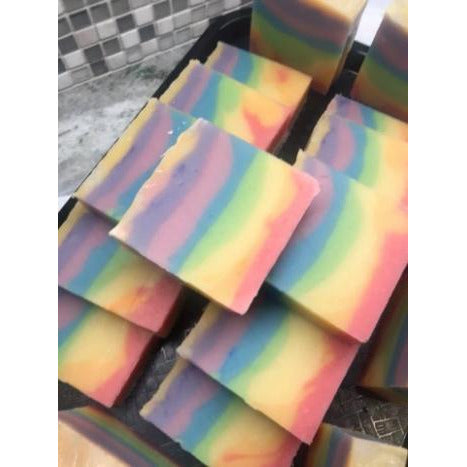Rainbow Soap Available May 20