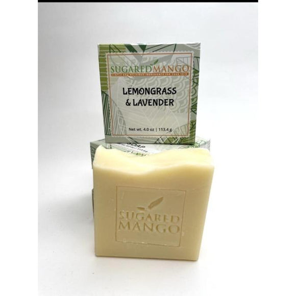 Lemongrass and Lavender soap