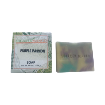 Purple Passion Soap - Sugared Mango