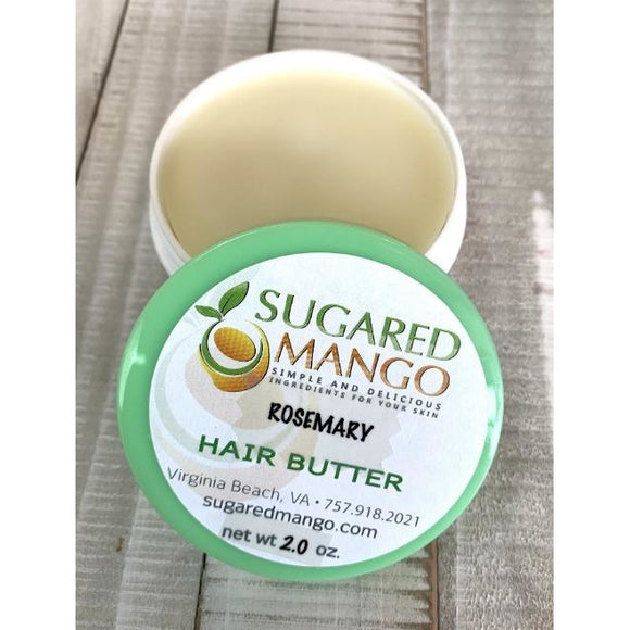 Picture of rosemary hair butter