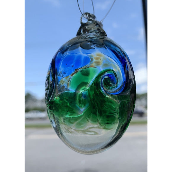 Art Glass Ovals