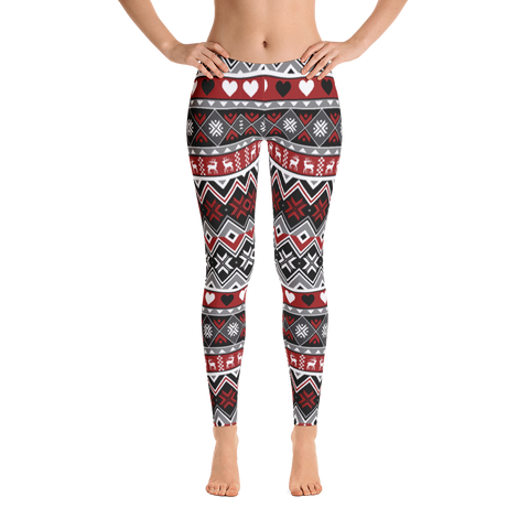 A1 Inspire Christmas Leggings-Daughter & Me Legging