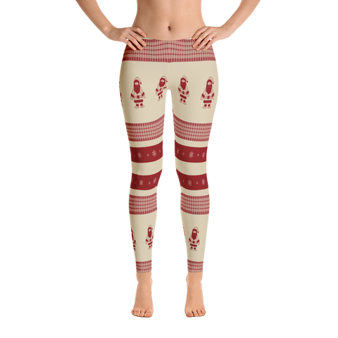 Santa Holiday Leggings