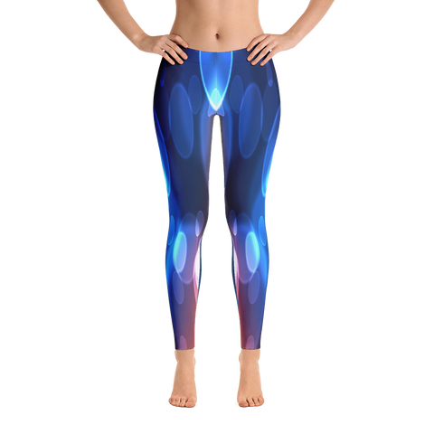 Blue Evolution Design Leggings