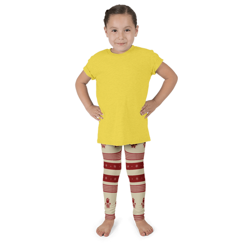 Santa Holiday Kids Leggings