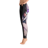 Black Modern Artwork leggings