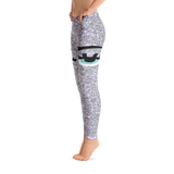 Gray Eyes Artwork Leggings