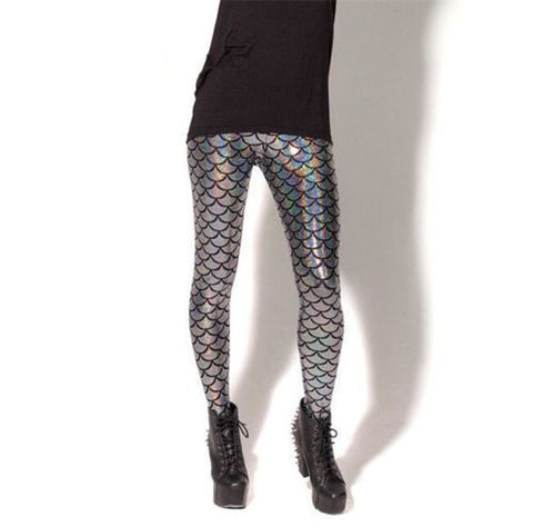 Mermaid Leggings Metallic Beyond the sea