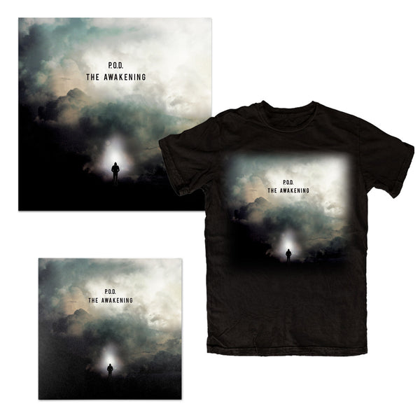 THE AWAKENING T-SHIRT, LITHO, VINYL BUNDLE