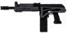 Magfed Maker AK SLR-100 mod kit on MG100 in Grey and Black with stock folded