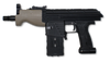 Magfed Maker AK Draco pistol mod kit for MG100 in Flat Dark Earth and Black