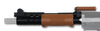 Magfed Maker FAL Heavy Barrel handguard in Brown/Wood