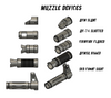 Magfed Maker MG100 AK Bloc System Muzzle Devices