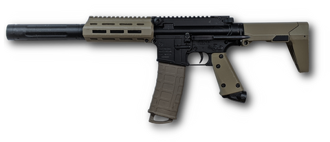 Magfed Maker Ratel Mod Kit in FDE for Tippmann TMC