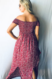 Summer Floral Maxi Dress  Roselynn's