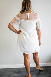 Lace T-shirt dress  Roselynn's