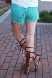 Dream Catcher Tan Lace Up Gladiator Sandals  Roselynn's