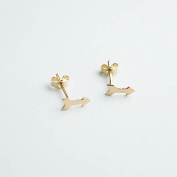 14k Gold Filled Arrow Earrings  Roselynn's