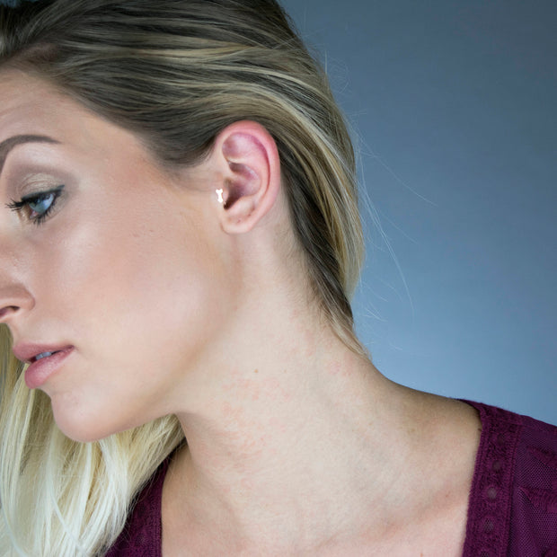 14K Gold Filled Arrow Tragus Earring  Roselynn's