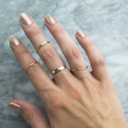 Personalized Skinny Bar Ring  Roselynn's