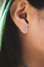 Music Note Earrings  Roselynn's