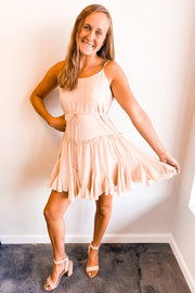 Ruffled Swing Dress
