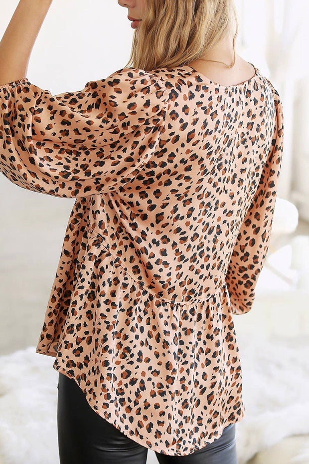 Baby Doll Leopard Top