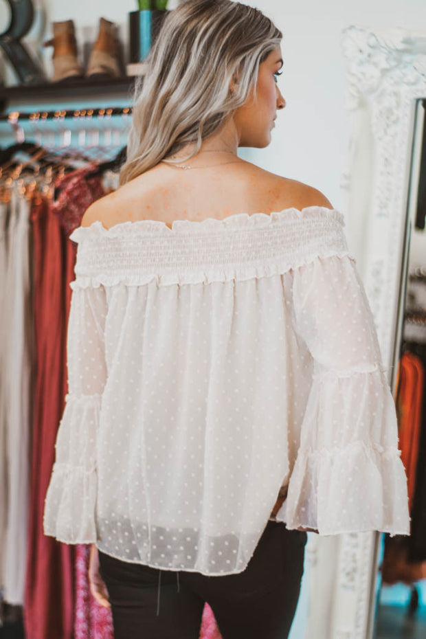 Dottie off the shoulder top  Roselynn's