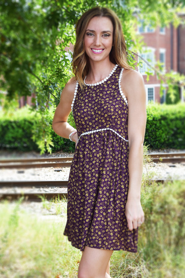 Fun and Flirty Sleeveless Dress  Roselynn's