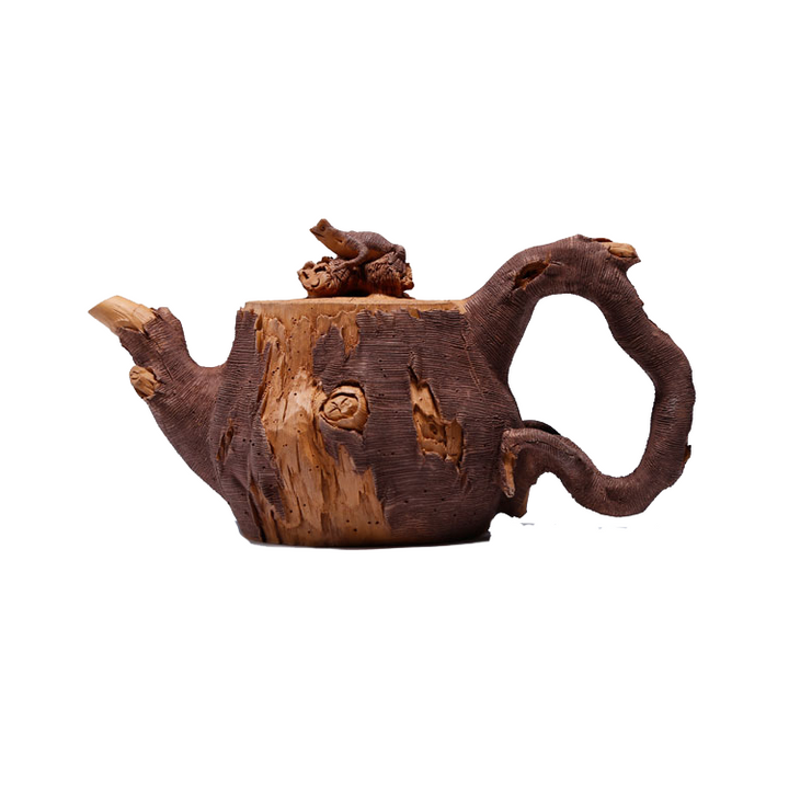Old Style Yixing Hand Carved Teapot