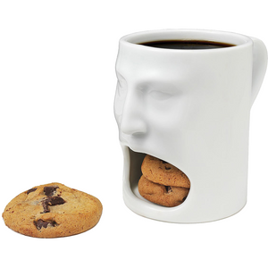 Cookie Holder Face Mug