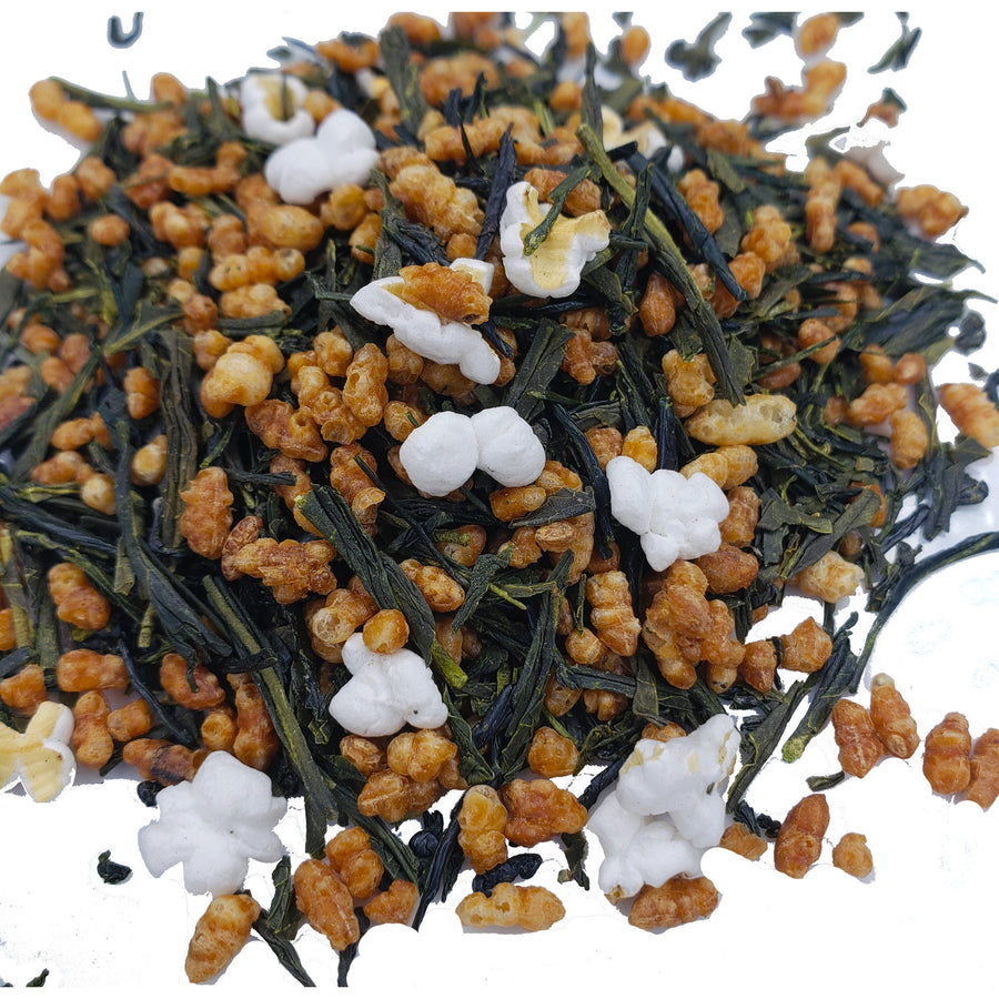Crystal's Genmaicha ICED Tea