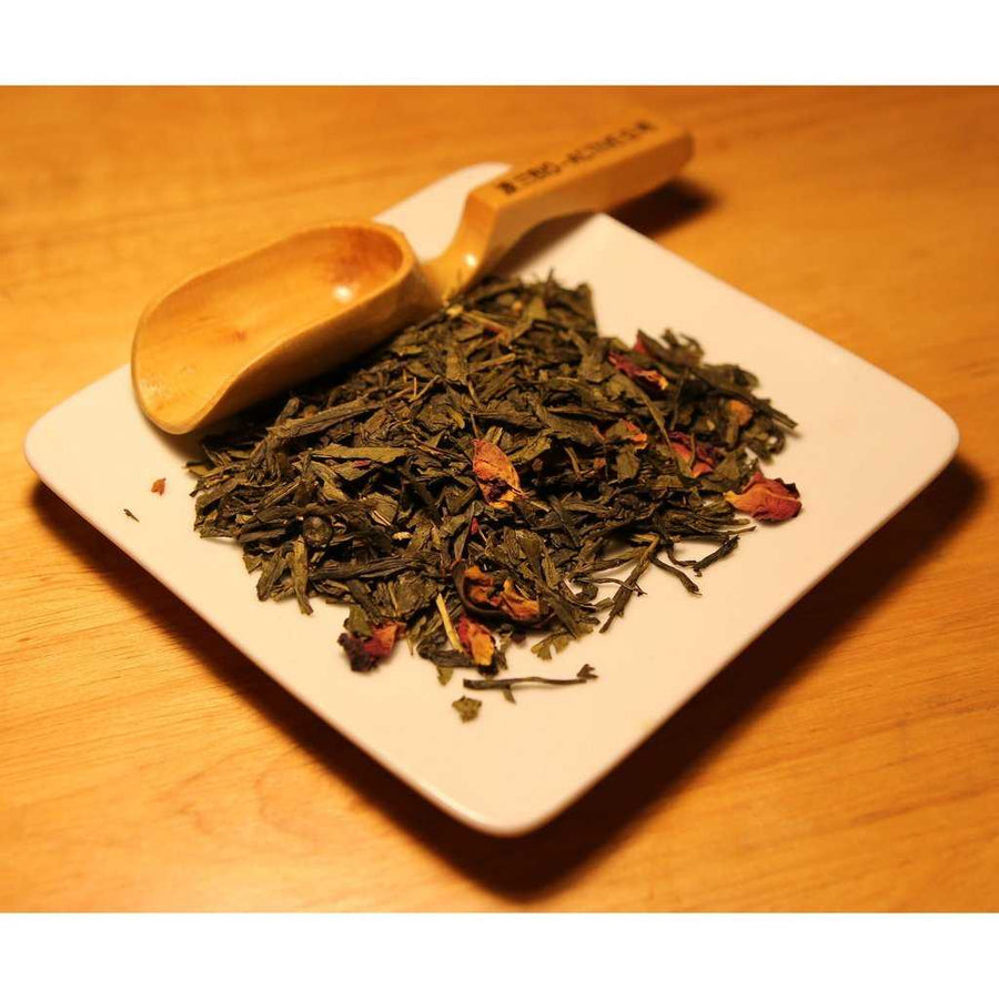 Cherry Green Tea | The Dragon's Treasure