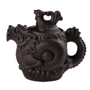 Dragon Phoenix Yixing Teapot | The Dragon's Treasure