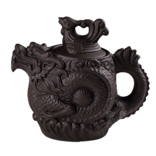 Dragon Phoenix Yixing Teapot