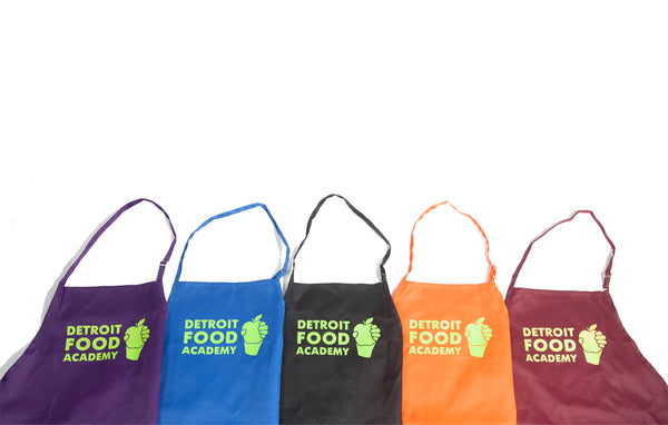 Detroit Food Academy Apron Add-on