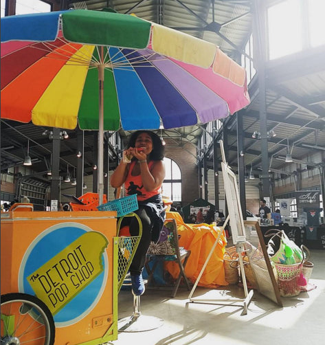 detroit pop shop ice pop popsicle cart rental
