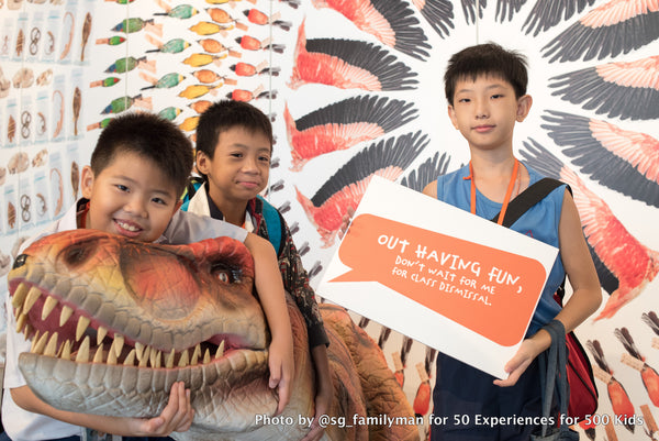 50 Experiences for 500 Kids