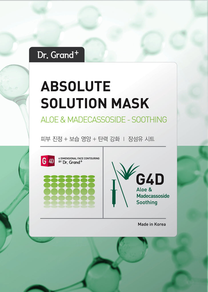 DR GRAND ABSOLUTE SOLUTION ALOE AND MADECASSOSIDE MASK