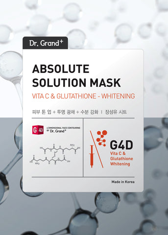 DR GRAND+ ABSOLUTE SOLUTION MASK VITC AND GLUTATHIONE