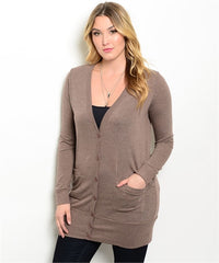 Delirious Mocha Full Sleeves comfortable Office Wear Top.