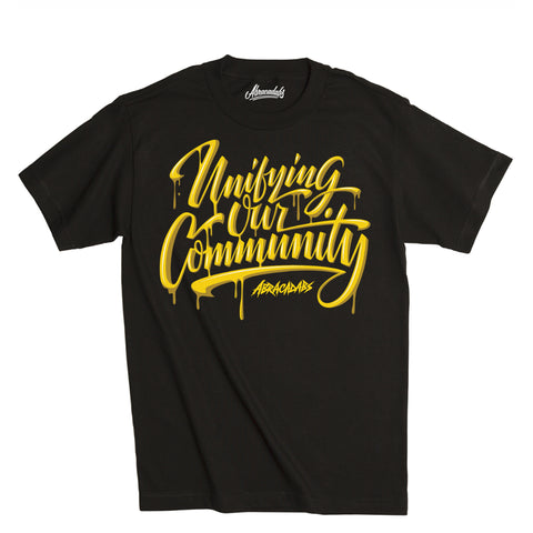 "Abracadabs ""Unifying Our Community"" Drip T-Shirt"