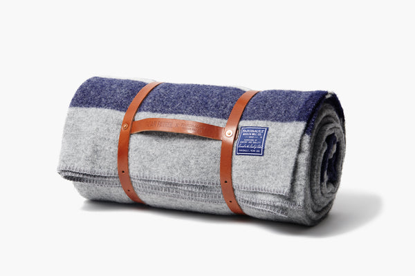 Faribault Woolen Co. Scout Blanket - Heather Gray